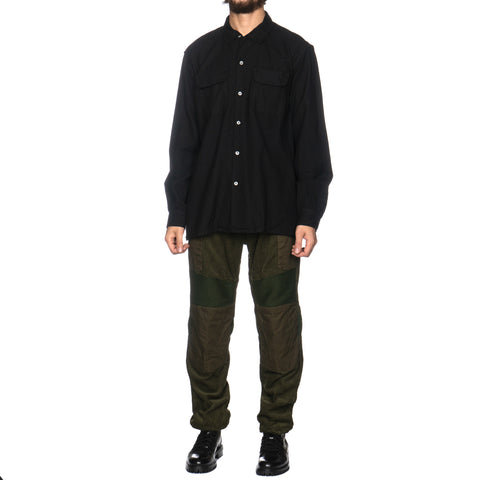 Engineered Garments Worsted Wool Flannel Black