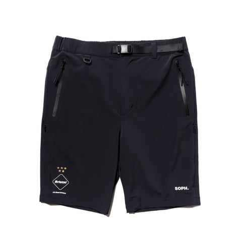 F.C.R.B. Adjustable Shorts Black, Bottoms