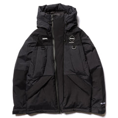F.C.R.B. Down Bench Parka Black, Outerwear