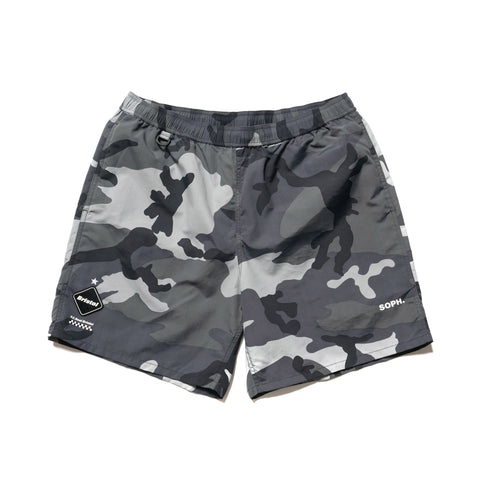 F.C.R.B. Nylon Easy Short Dark Woodland, Shorts