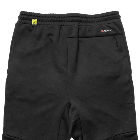 F.C.R.B. Polartec Fleece Training Pant Black, Bottoms