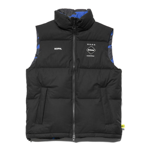 F.C.R.B. Reversible Down Vest Black, Vests