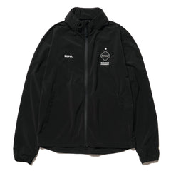 F.C.R.B. Stretch Light Weight Hood Blouson Black, Jackets
