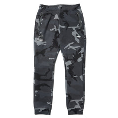 F.C.R.B. Sweat Training Pants Dark Woodland, Bottoms