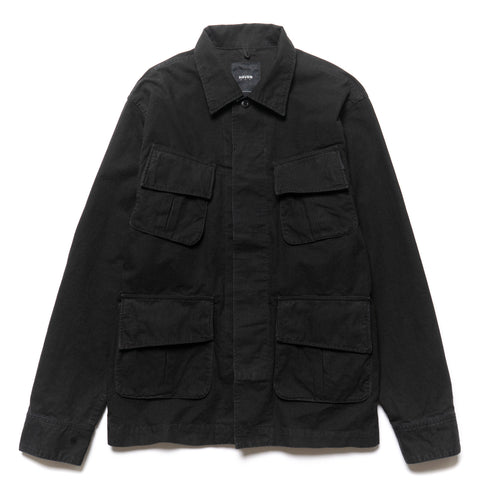 HAVEN Fatigue Jacket - Ripstop Black
