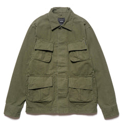 HAVEN Fatigue Jacket - Ripstop Olive
