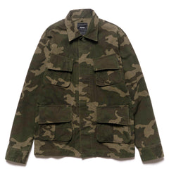 HAVEN Fatigue Jacket - Ripstop Woodland Camo