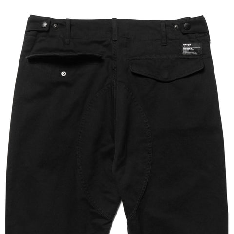 HAVEN Field Pants - Cotton Army Cloth Black, Bottoms