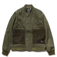 HAVEN Flak Bomber – Nylon Twill Olive, Outerwear