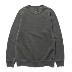 HAVEN Heavy Weight Crew Neck - Garment Dyed Fleece Charcoal, Sweaters
