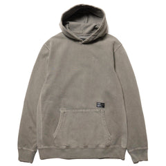HAVEN Heavy Weight Pullover Hoodie - Garment Dyed Fleece Olive, Sweaters