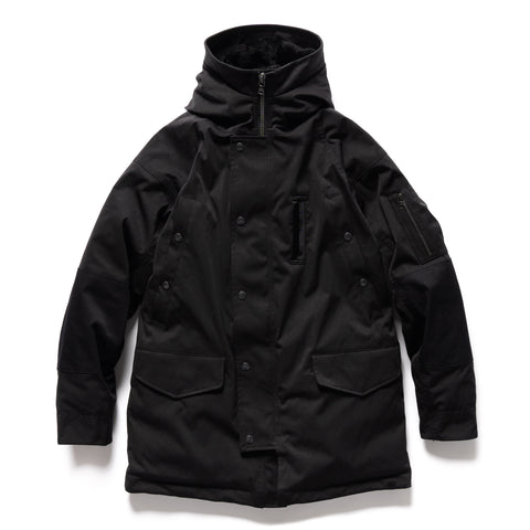 HAVEN Griffon Parka - JP Knitted Polyester Nylon Black, Outerwear