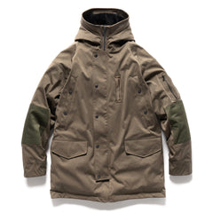 HAVEN Griffon Parka - JP Knitted Polyester Nylon Olive, Outerwear