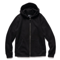 HAVEN Heavyweight Zip Hoodie Black, Sweaters
