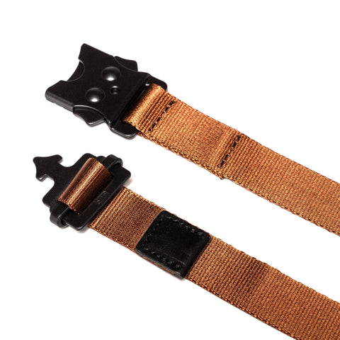 hobo Nylon Tape Belt Brown, Accessories