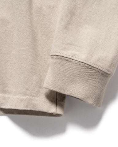 HAVEN L/S T-Shirt - Garment Dyed Jersey Sand, T-Shirts