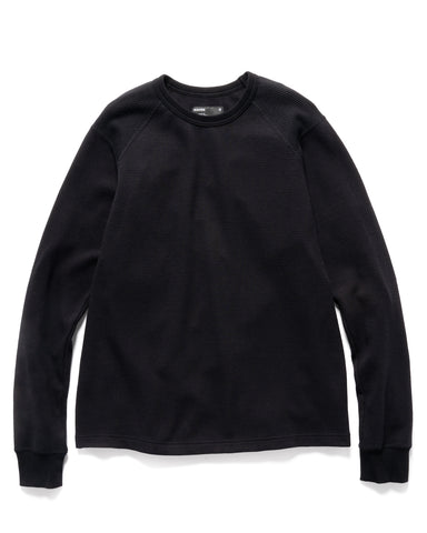 HAVEN Base Thermal - Cotton Waffle Thermal Black, Knits
