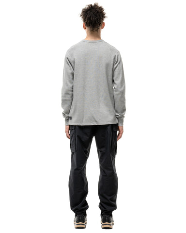 HAVEN Base Thermal - Cotton Waffle Thermal Grey, Knits
