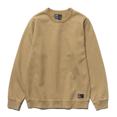 HAVEN Heavy Weight Crew Neck - Garment Dyed Fleece Khaki, Sweaters