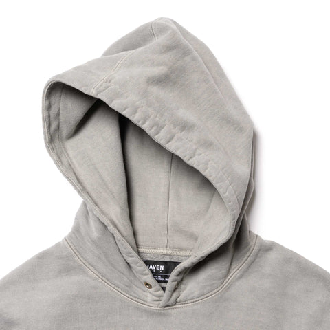 HAVEN Heavy Weight Pullover Hoodie - Garment Dyed Fleece Clay, Sweaters