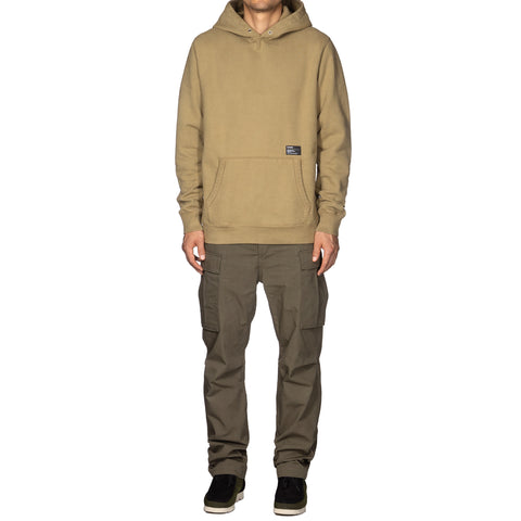 HAVEN Heavy Weight Pullover Hoodie - Garment Dyed Fleece Khaki, Sweaters