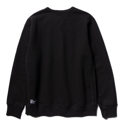 HAVEN Heavyweight Crewneck Black, Sweaters