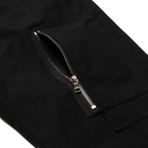 HAVEN Helo Pant - Cordura® Cotton Nylon Twill Black, Bottoms