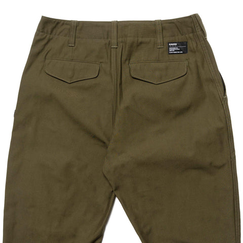 HAVEN Helo Pant - Cordura® Cotton Nylon Twill Olive, Bottoms