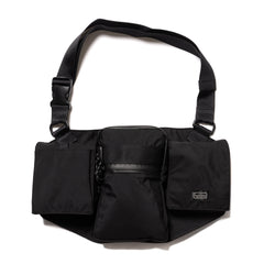 Hobo Breathatec© Nylon Utility Shoulder Bag Black, Bags