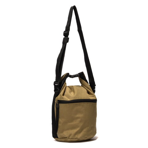 Hobo Polyester Canvas Roll Top Bag Beige, Bags