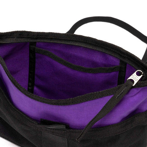 Hobo Polyester Canvas Sacoche Purple, Accessories