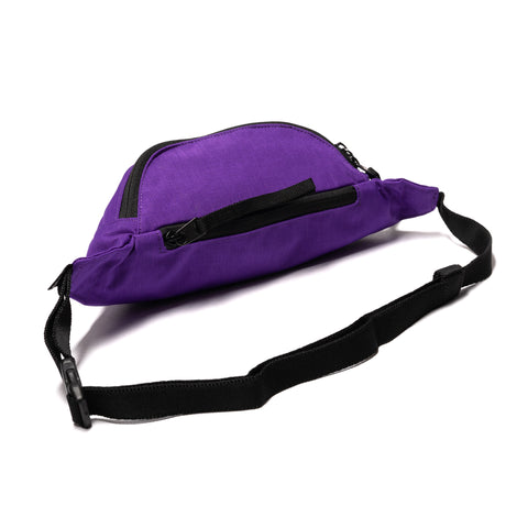 Hobo Polyester Canvas Waist Bag Purple, Bags