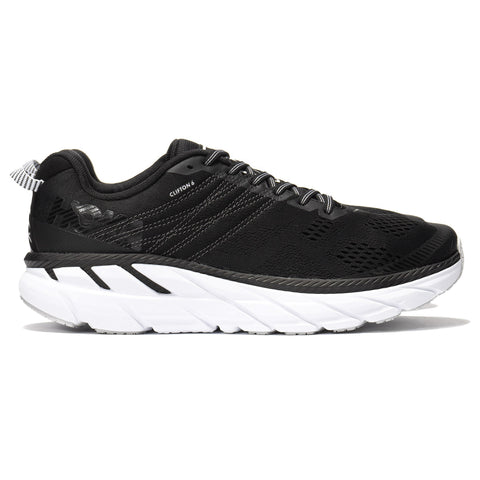 Hoka One One Clifton 6 Black/White, Footwear