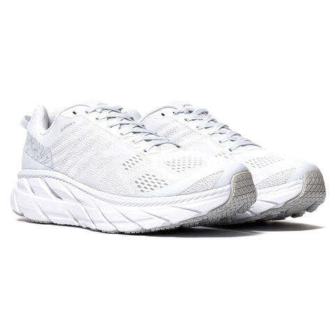 Hoka One One Clifton 6 Bright White/White, Footwear