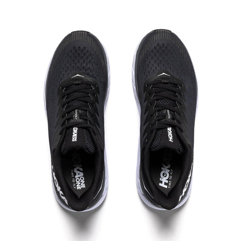Hoka One One Clifton 7 Black/White, Footwear