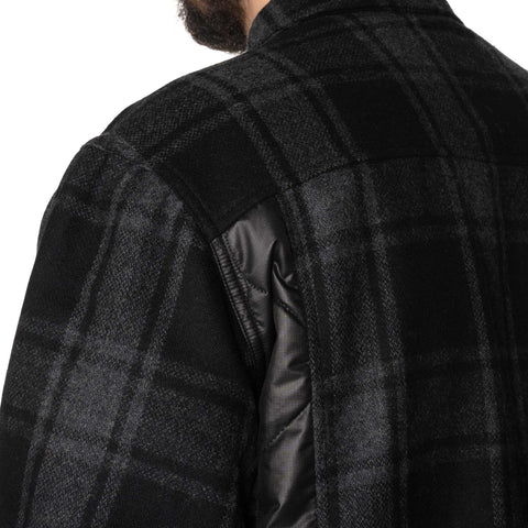 HAVEN Hudson Overshirt - PrimaLoft® Wool Flannel Black, Shirts