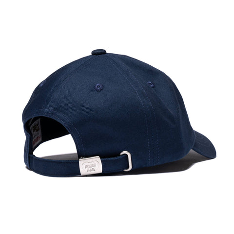 Human Made 6 Panel Twill Cap #2 Navy, Accessories