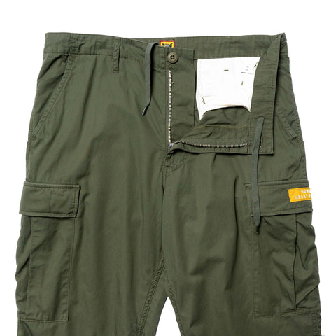 Human Made Cargo Pants Olive Drab, Bottoms