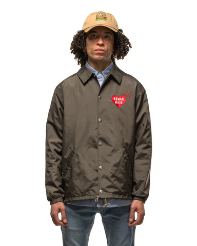 Human Made Coach Jacket Brown, Outerwear