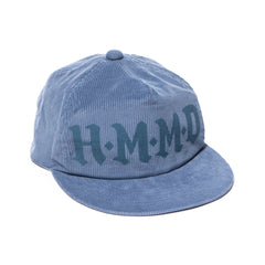Human Made Corduroy Cap Blue, Headwear