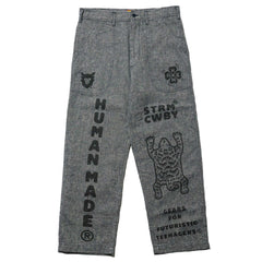 Human Made Deck Pants Navy, Bottoms