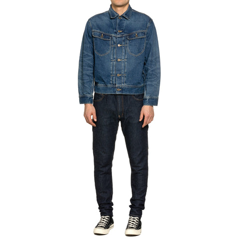 Human Made Denim Work Jacket Indigo, Outerwear