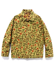 Human Made Duck Camo Ranger Jacket Green, Outerwear