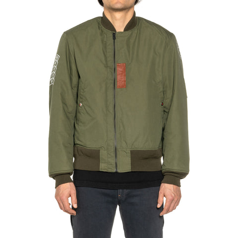 Human Made Flight Jacket Olive Drab, Outerwear