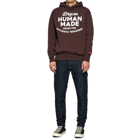 Human Made Hooded Sweatshirt Brown, Sweaters