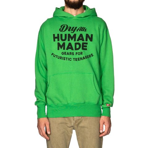 Human Made Hooded Sweatshirt Green, Sweaters