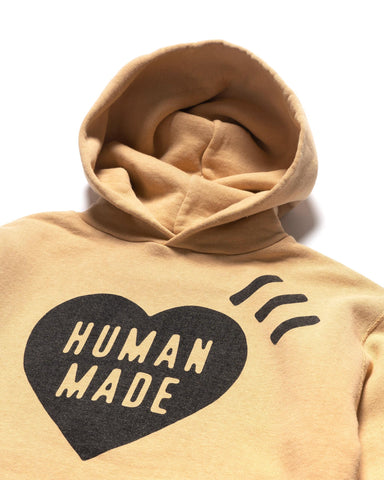 Human Made Hooded Sweatshirt Yellow, Sweaters