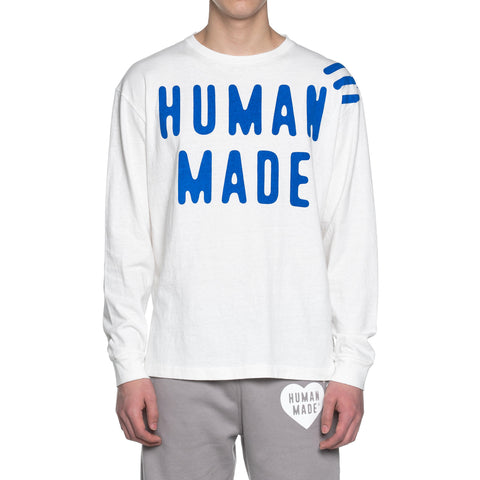 Human Made Long-T #1 White, T-Shirts