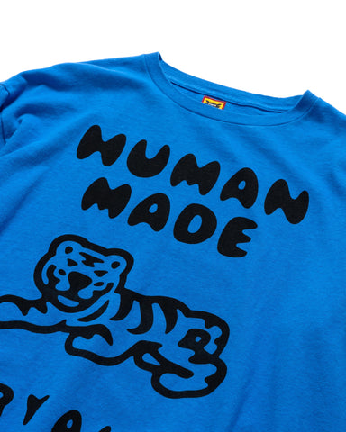 Human Made Long-T #3 Blue, T-Shirts