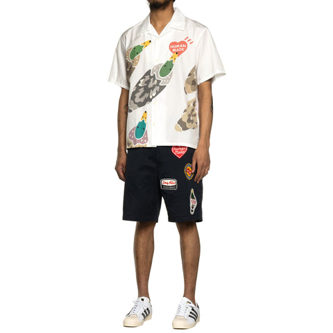 Human Made Military Wappen Chino Shorts Navy, Bottoms